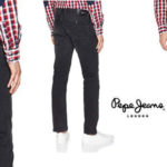 Vaqueros Pepe Jeans Spike en negro para hombre baratos en Amazon