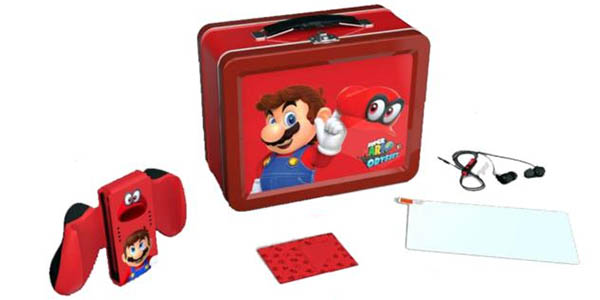 Lunch Box Kit Mario de Power A para Nintendo Switch barato