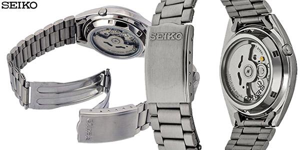 Reloj automático Seiko SNXS75K con correa de acero inoxidable para hombre chollazo en Amazon