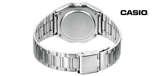 Reloj digital vintage Casio A158WEA-1EF con correa acero inoxidable para hombre chollo en Amazon