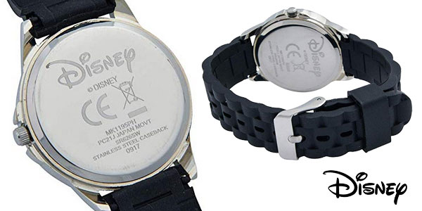 Reloj Mickey Mouse para niños MK1195 negro chollazo en Amazon