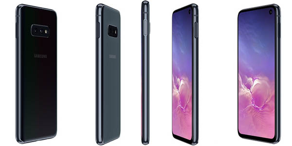 Samsung Galaxy S10E en color negro