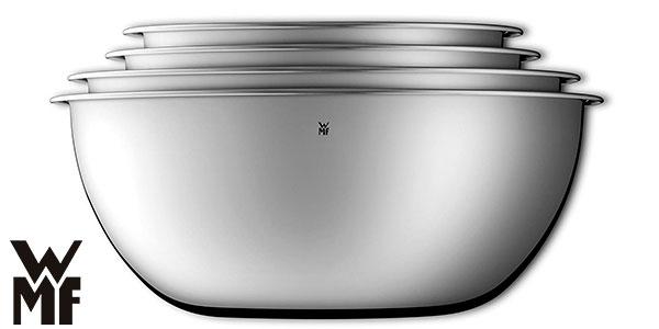 Set 4 fuentes de cocina WMF Gourmet de acero inoxidable barato
