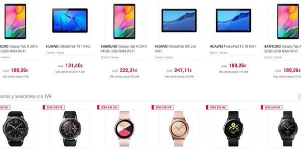 smartphones wereables baratos en el Día sin IVA de The Phone House junio 2019