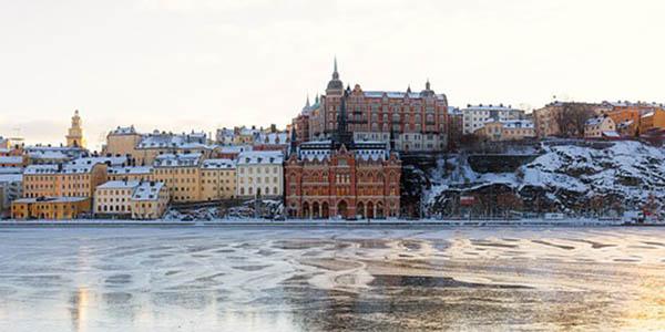 viaje corto a Estocolmo Suiza low cost