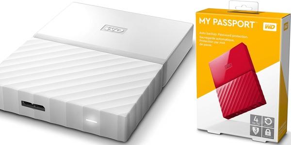 Disco duro portátil 4 TB barato Western Digital