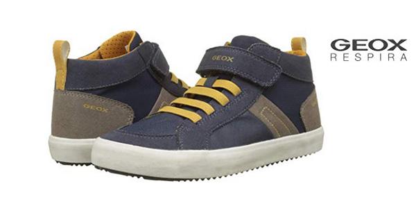 f62b83a6ed1 Zapatillas altas Geox J Alonisso Boy G para niños baratas en Amazon