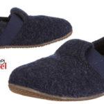 Zapatillas de estar por casa Living Kitzbühel T-modell 1446 de pura lana para niños baratas en Amazon