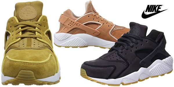 new styles e1525 18a47 Zapatillas deportivas Nike Wmns Air Huarache Run PRM para mujer baratas en  Amazon