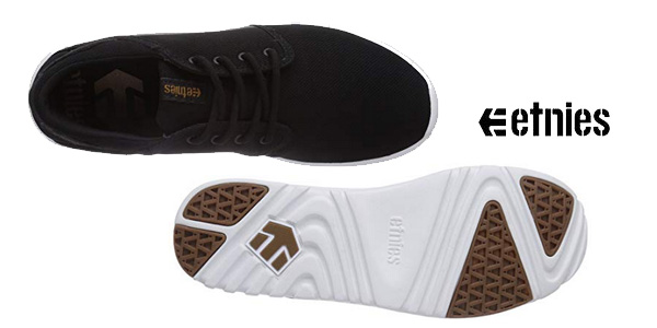 Zapatillas de skate Etnies Scout en color negro chollo para hombre