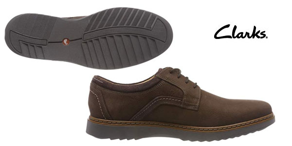 d6a9b3a7 Chollazo Zapatos Clarks Un Geo Lace para hombre por sólo 55€ con ...
