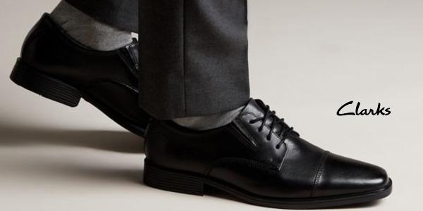 Chollo Zapatos Clarks Tilden Plain para hombre por sólo 55