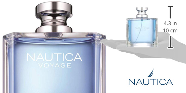 Eau de toilette Voyage de Nautica de 100 ml para hombre chollo en Amazon