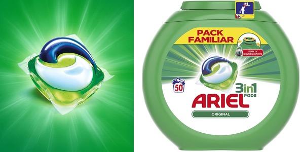 Ariel 3en1 Pods detergente en cápsulas chollo