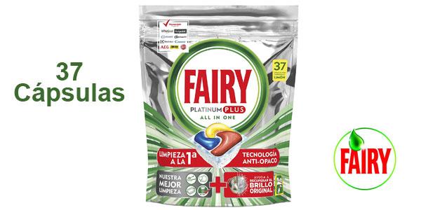 Bolsa de 37 cápsulas de Fairy Platinum Plus barato en Amazon