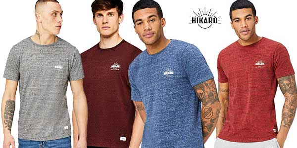 Camisetas de manga corta HIKARO para hombre baratas en Amazon