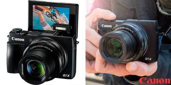 Chollo Cámara Canon Powershot G1X Mark II de 12,8 mp con zoom óptico 5X