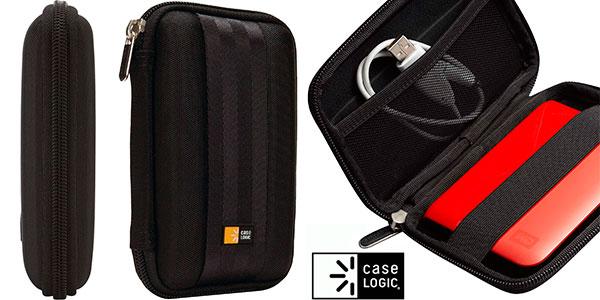 """Chollo Estuche compacto Case Logic QHDC101K para disco duro de 2,5"""""""