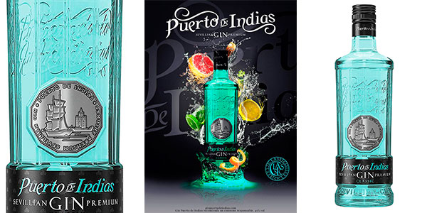 Chollo Ginebra Puerto de Indias Classic de 700 ml