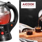 Chollo Hervidor de agua Aicook MD325 con infusor de té