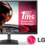 "Chollo Monitor gaming LG 22MK400H-B Full HD de 22"""