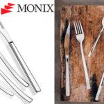 Chollo Set Monix Génova de 24 cubiertos de acero inoxidable