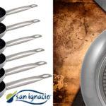 Chollo Set 6 sartenes San Ignacio Professional Chef Platinum