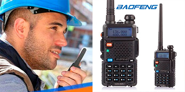 Chollo Walkie talkie Baofeng UV-5R