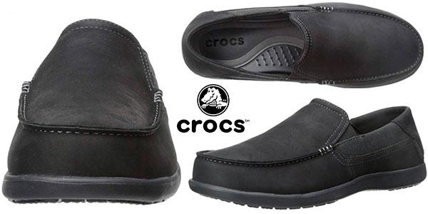 8e29fc2062a Chollo Zapatos Crocs Santa Cruz 2 Luxe Leather para hombre por sólo ...
