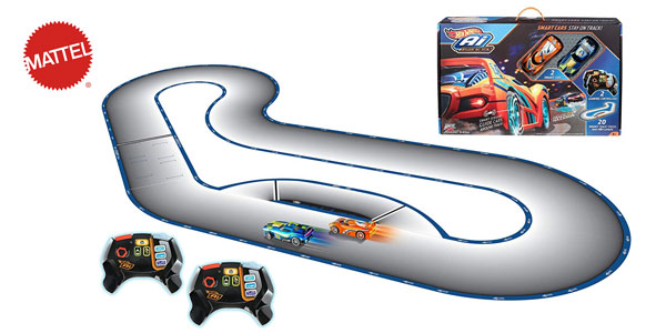 Circuito de Carreras I.A. Hot Wheels (Mattel FBL83) barato en Amazon
