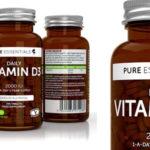 Envase 365 comprimidos Vitamina D3 Colecalciferol 2000 UI Pure Essentials barato en Amazon