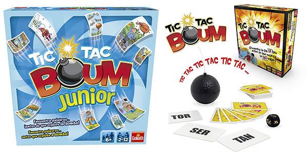 Goliath Tic Tac Boum juego de cartas barato