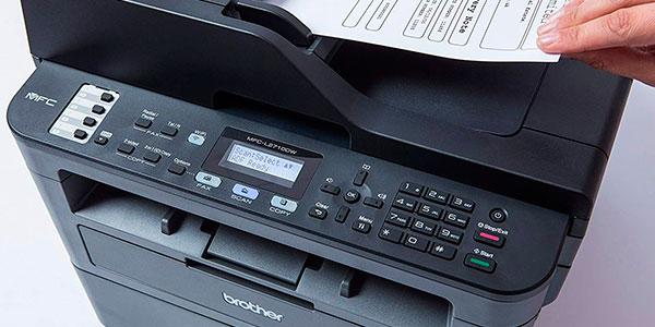 Impresora multifunción Brother MFCL2710DW láser con Wi-Fi barata