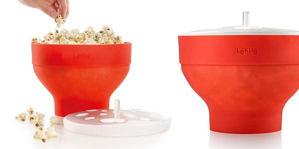Recipiente para palomitas microondas Lekue Popcorn barato en Amazon