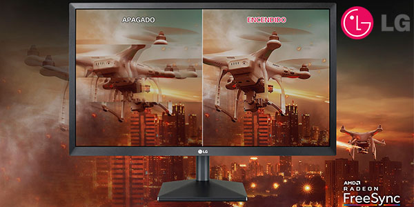 "Monitor gaming LG 22MK400H-B Full HD de 22"" en oferta"