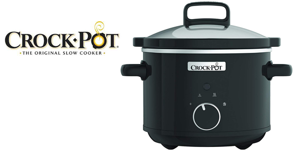Olla de cocción lenta Crock-Pot CSC046X de 2,4 L y 180 W barata en Amazon