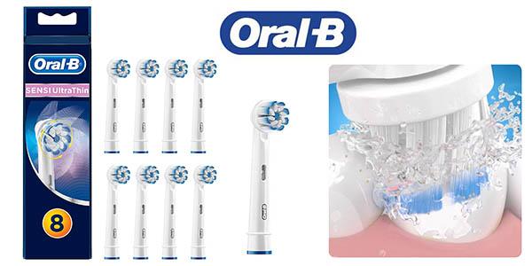 Oral-B Sensi Ultrathin recambios para cabezales baratos