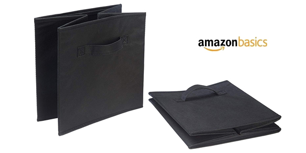 Set 6 Cubos de almacenamiento plegables AmazonBasics chollo en Amazon