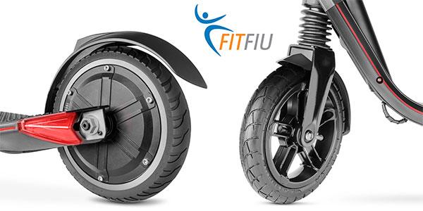 Patinete eléctrico plegable Fitfiu con batería Samsung de 4.400 mAh con suspensión barato