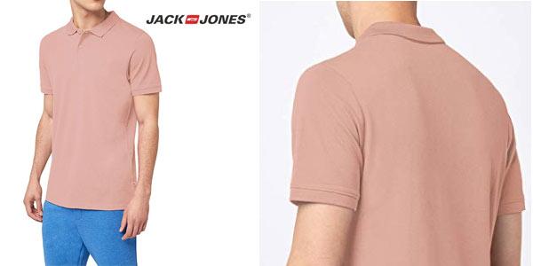 Polo Jack & Jones JJebasic SS Noos para hombre barato en Amazon