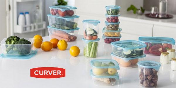 Set de 3 recipientes herméticos Curver Fresh & Go chollo en Amazon