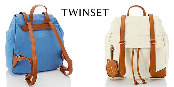 Twinset Milano Os8tad mochila bolso casual barata de calidad