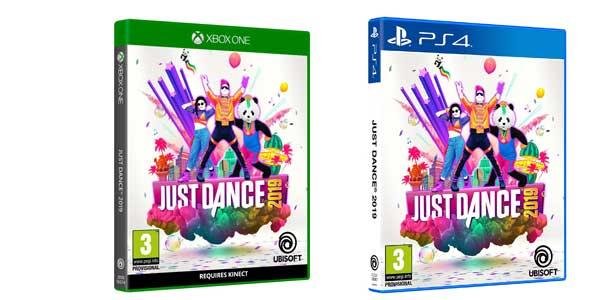 Just Dance 2019 para Xbox o PS4 barato en Amazon