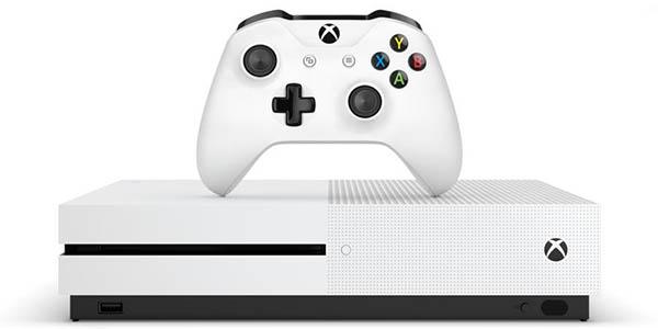 Xbox One S de 1 TB + Minecraft Complete Collection + Gears of War 4 en Amazon
