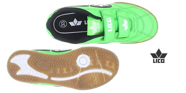 Zapatillas deportivas Lico Bernie V 360322 tallas infantiles verde chollazo Amazon