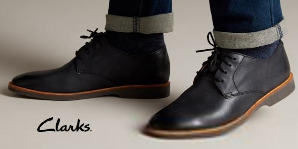 Zapatos de cordones Clarks Atticus Lace para hombre chollazo en Amazon