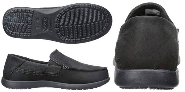 Zapatos Crocs Santa Cruz 2 Luxe Leather para hombre baratos