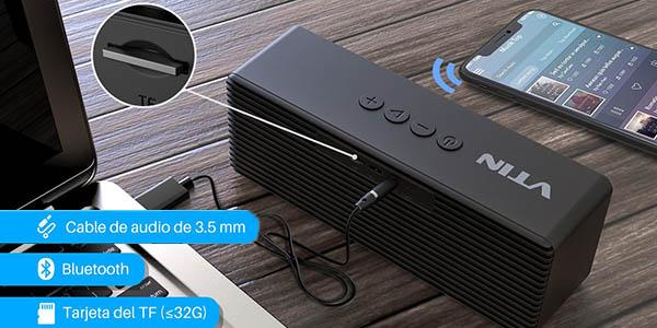 Altavoz Bluetooth portátil VicTsing Mini de 5W en Amazon