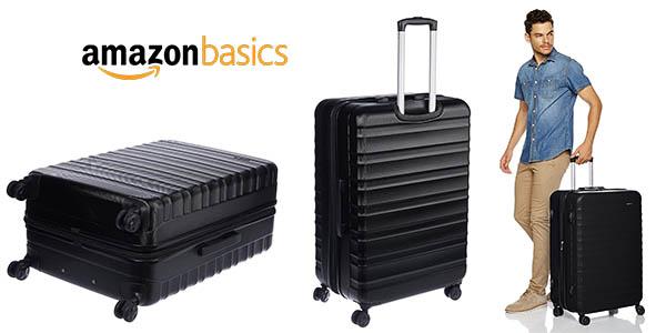 AmazonBasics maleta rígida grande barata