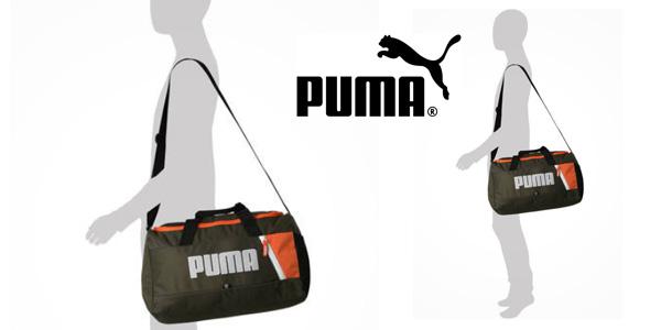 Bolsa deportiva Puma Fundamentals XS II Forest Night chollazo en Amazon